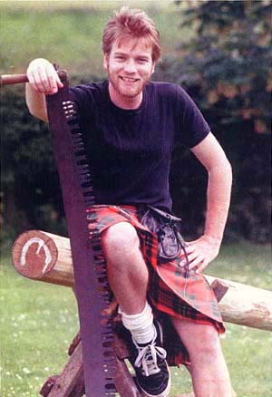 Check out this awesome kilt picture of Ewan I found!